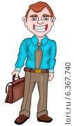 Бизнесмен. Стоковая иллюстрация, иллюстратор Надежда Хорошилова / Фотобанк Лори