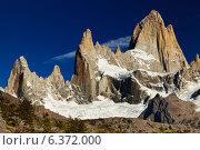 Mount Fitz Roy, Patagonia, Argentina. Стоковое фото, агентство Ingram Publishing / Фотобанк Лори