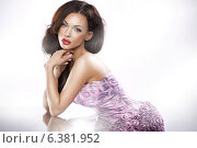 Купить «Picture of stunning brunette beauty», фото № 6381952, снято 12 декабря 2018 г. (c) Ingram Publishing / Фотобанк Лори