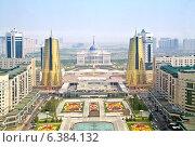 Купить «Астана. Вид с высоты птичьего полета», фото № 6384132, снято 2 января 2000 г. (c) Parmenov Pavel / Фотобанк Лори