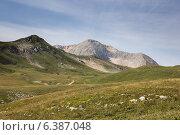 Гора Оштен в Большом Кавказском заповеднике (2014 год). Редакционное фото, фотограф Максим Кожушко / Фотобанк Лори