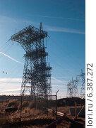 Купить «Electricity pylons over a dam, Glen Canyon Dam, Lake Powell, Page, Arizona-Utah, USA», фото № 6387272, снято 20 марта 2019 г. (c) Ingram Publishing / Фотобанк Лори
