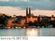 Купить «Buildings at the waterfront, Stockholm, Sweden», фото № 6387552, снято 7 декабря 2019 г. (c) Ingram Publishing / Фотобанк Лори
