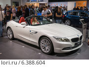 Купить «Автомобиль BMW Z4», фото № 6388604, снято 3 сентября 2014 г. (c) Павел Лиховицкий / Фотобанк Лори
