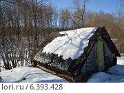 Баня в зимний день. Стоковое фото, фотограф Владимир Алексеевич / Фотобанк Лори