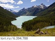 Алтай, озеро Кучерлинское. Стоковое фото, фотограф Тимур Кузяев / Фотобанк Лори