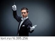 Купить «Conductor», фото № 6395256, снято 10 марта 2014 г. (c) Raev Denis / Фотобанк Лори