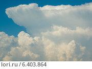 Летние облака. Стоковое фото, фотограф Анна Дорофеенко / Фотобанк Лори