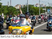 Купить «Международный байк фестиваль в Бресте», фото № 6404412, снято 24 мая 2014 г. (c) Андрей Рыбачук / Фотобанк Лори