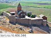 Купить «Армения, монастырь Хор Вирап», фото № 6406344, снято 7 сентября 2014 г. (c) Овчинникова Ирина / Фотобанк Лори