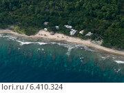 Купить «Tourist resort at the coast, Bay Islands, Honduras», фото № 6410324, снято 1 января 2013 г. (c) Ingram Publishing / Фотобанк Лори