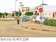 Старые улицы Эль-Джема в Тунисе (2011 год). Редакционное фото, фотограф Лукаш Дмитрий / Фотобанк Лори