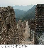 Купить «Jinshanling section of Great Wall Of China, Beijing, China», фото № 6412416, снято 26 августа 2012 г. (c) Ingram Publishing / Фотобанк Лори