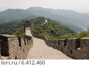 Купить «Mutianyu section of Great Wall Of China, Huairou District, Beijing, China», фото № 6412460, снято 23 августа 2012 г. (c) Ingram Publishing / Фотобанк Лори