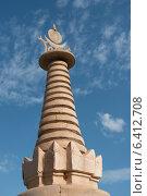 Купить «Pagoda for Buddhist relic, Mogao Caves, Dunhuang, Jiuquan, Gansu Province, China», фото № 6412708, снято 13 августа 2012 г. (c) Ingram Publishing / Фотобанк Лори