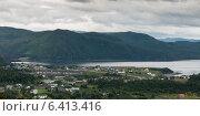 Купить «Town along the coast, Bonne Bay, Norris Point, Gros Morne National Park, Newfoundland And Labrador, Canada», фото № 6413416, снято 28 августа 2013 г. (c) Ingram Publishing / Фотобанк Лори