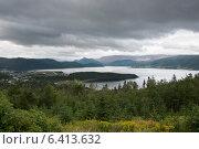 Купить «View of Bonne Bay, Norris Point, Gros Morne National Park, Newfoundland And Labrador, Canada», фото № 6413632, снято 28 августа 2013 г. (c) Ingram Publishing / Фотобанк Лори