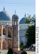 Купить «Ташкент - Медресе Кукельдаш», фото № 6416272, снято 2 июля 2014 г. (c) Мирсалихов Баходир / Фотобанк Лори