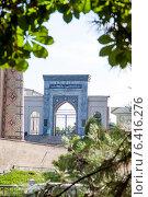 Купить «Ташкент - Медресе Кукельдаш», фото № 6416276, снято 2 июля 2014 г. (c) Мирсалихов Баходир / Фотобанк Лори