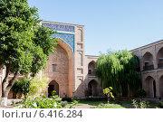 Купить «Ташкент - Медресе Кукельдаш», фото № 6416284, снято 2 июля 2014 г. (c) Мирсалихов Баходир / Фотобанк Лори