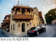 Купить «Ичер Шахер - старый город в Баку, азербайджан», фото № 6426876, снято 24 июля 2014 г. (c) Liseykina / Фотобанк Лори