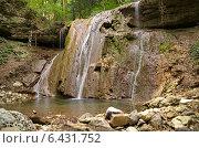 Кавказ река Каверзе Большой водопад. Стоковое фото, фотограф Roman.melnikeysk / Фотобанк Лори