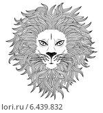Купить «Морда льва», иллюстрация № 6439832 (c) Анна Павлова / Фотобанк Лори