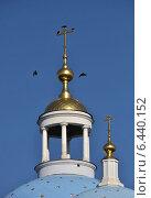 Купить «Собор Спаса Нерукотворного Образа в Спасо-Влахернском монастыре в Деденево», эксклюзивное фото № 6440152, снято 21 сентября 2014 г. (c) lana1501 / Фотобанк Лори