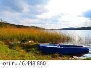 Лодки у берега. Стоковое фото, фотограф Марина Разгулина / Фотобанк Лори