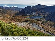 Купить «Горный осенний пейзаж. Камчатка», фото № 6456224, снято 28 сентября 2014 г. (c) А. А. Пирагис / Фотобанк Лори