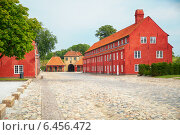 Купить «The Prince's Bastion, the Princess' Bastion and the Norway's Gate in Kastellet», фото № 6456472, снято 22 августа 2014 г. (c) Serg Zastavkin / Фотобанк Лори