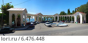 Купить «Абхазия, колоннада в Гагре», фото № 6476448, снято 10 сентября 2014 г. (c) Игорь Потапов / Фотобанк Лори