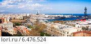 Купить «Barcelona city with Port Vell from Montjuic», фото № 6476524, снято 14 декабря 2019 г. (c) Яков Филимонов / Фотобанк Лори