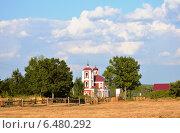 Никольская церковь (Задонск, Каменка) (2014 год). Стоковое фото, фотограф Максим Адылшин / Фотобанк Лори