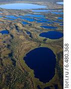 Северные озера в тихий летний день. Стоковое фото, фотограф Владимир Мельников / Фотобанк Лори