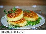 Купить «Картофельные зразы с мясом», фото № 6484912, снято 29 сентября 2014 г. (c) Peredniankina / Фотобанк Лори