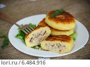 Купить «Картофельные зразы с мясом», фото № 6484916, снято 29 сентября 2014 г. (c) Peredniankina / Фотобанк Лори