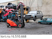 Купить «Scrapyard», фото № 6510668, снято 13 февраля 2009 г. (c) Caro Photoagency / Фотобанк Лори