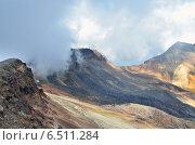 Купить «Северная вершина горы Арагац», фото № 6511284, снято 14 сентября 2014 г. (c) Овчинникова Ирина / Фотобанк Лори