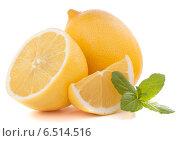 Купить «Lemon or citron citrus fruit», фото № 6514516, снято 16 ноября 2012 г. (c) Natalja Stotika / Фотобанк Лори