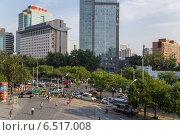 Купить «Китай, Пекин. Городской пейзаж», фото № 6517008, снято 9 сентября 2014 г. (c) Rokhin Valery / Фотобанк Лори