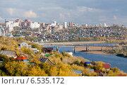 Купить «Осенняя Уфа», фото № 6535172, снято 28 сентября 2012 г. (c) Донцов Евгений Викторович / Фотобанк Лори