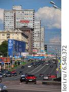 Купить «Улица Новый Арбат, Москва», эксклюзивное фото № 6540372, снято 17 июля 2009 г. (c) lana1501 / Фотобанк Лори