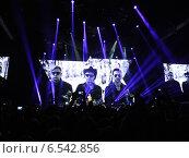 Depeche Mode. Концерт в Санкт-Петербурге. СКК. 2014 (2013 год). Редакционное фото, фотограф Вячеслав Бондаренко / Фотобанк Лори