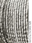 Купить «Бухта с кабелем», фото № 6543128, снято 25 июня 2019 г. (c) Vladimir Sviridenko / Фотобанк Лори