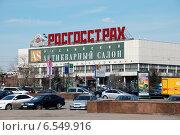 Центральный дом художника на Крымской набережной в Москве (2010 год). Редакционное фото, фотограф lana1501 / Фотобанк Лори