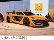 Купить «Рено спорт РС 01 (Renault Sport RS 01) на ММАС 2014», фото № 6552980, снято 3 сентября 2014 г. (c) Алексей Назаров / Фотобанк Лори