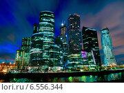 Москва-Сити (2014 год). Редакционное фото, фотограф Иван Вислов / Фотобанк Лори