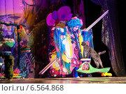 Купить «Выступление. Театр кошек Куклачева.», фото № 6564868, снято 9 ноября 2013 г. (c) Галина Попова / Фотобанк Лори