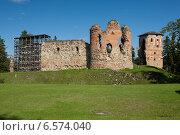 Эстония, замок Вана-Вастселийна, фото № 6574040, снято 5 сентября 2014 г. (c) Борис Заманский / Фотобанк Лори